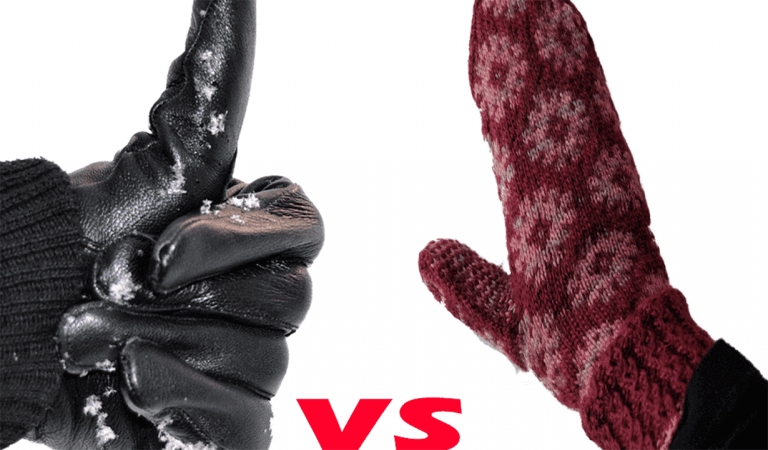 gloves vs mittens