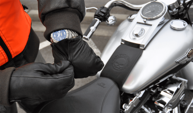Best Heated Motorcycle Gloves Waterproof Leather