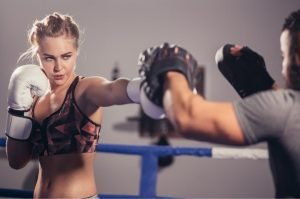 gym training boxing focus mitts for accuracy