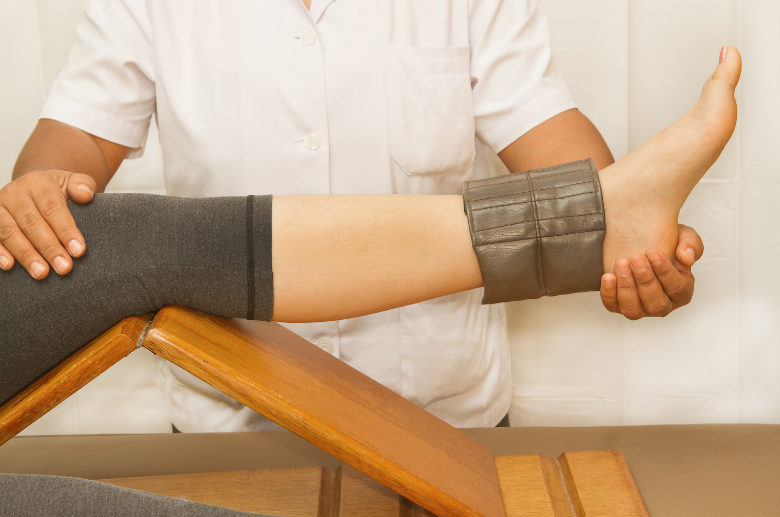 ankle pain treatment Physical Therapy for strain